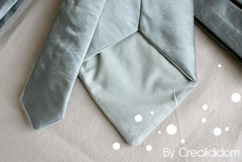 couture pour mon homme une cravate assortie crealididom. Black Bedroom Furniture Sets. Home Design Ideas