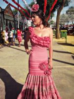 robe flamenco traje